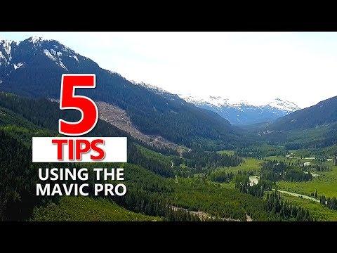 5 Beginner Tips DJI Mavic Pro Drone