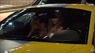 Ferrari 599 GTO picks up 2 girls in Monaco and drives like a mad man!!