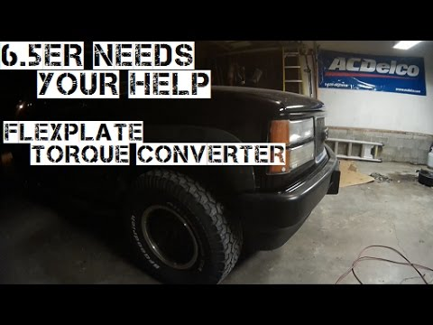 6 5 Turbo Diesel Knock Rattle Need Help part 4 Flexplate and Torque  Converter