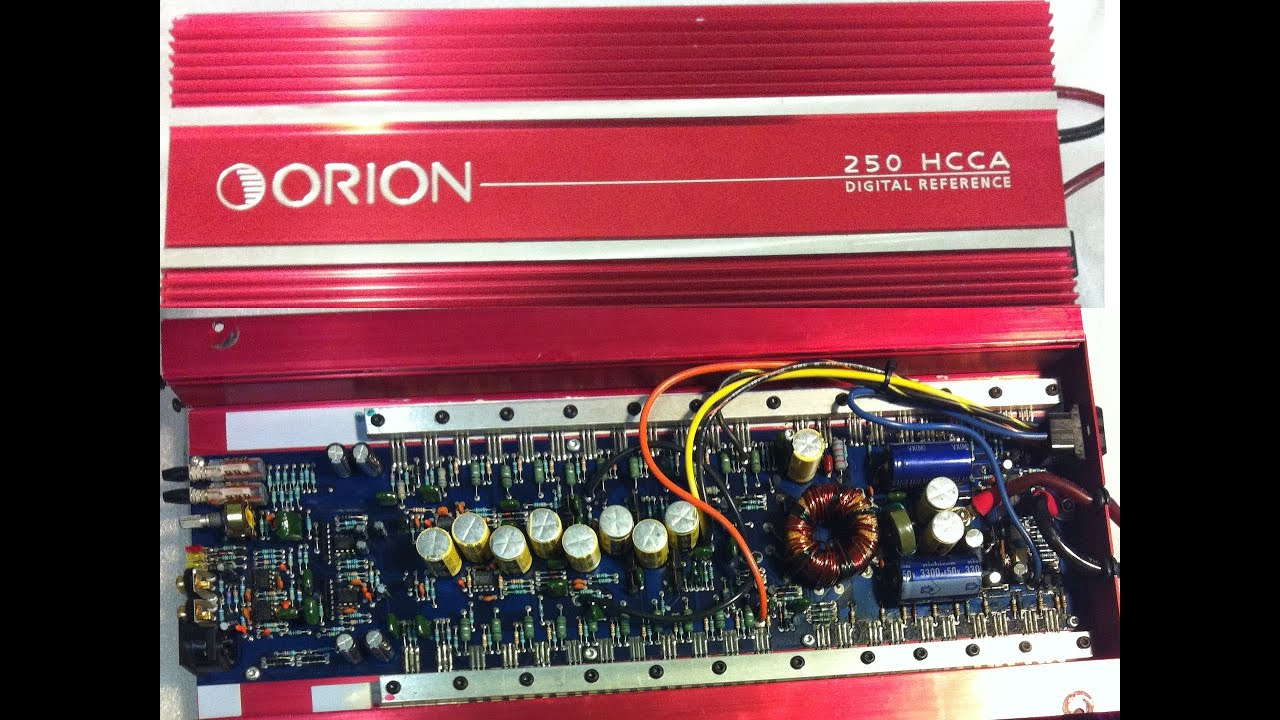 small resolution of orion 250 hcca cheater amp bench test power output dd 1 youtube orion amplifier wiring diagram source orion car stereo