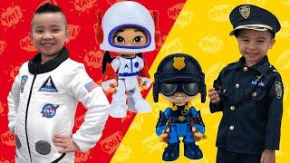 Policeman Vs Astronauts Dress Up Fun Game With CKN