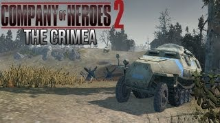 Company of Heroes 2 - The Crimea AI Battle on General - Theater of War Gameplay