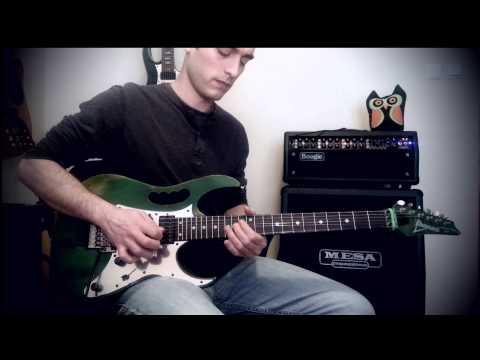 Ali Ozen - Dream Theater Octavarium guitar solo cover