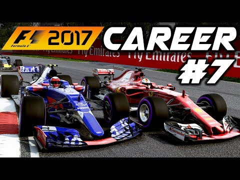 F1 2017 Career Mode Part 7: CHAOS IN CANADA WITH DAMP TRACK!