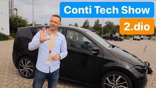 Auto na ☀️ sunce, autonomni autobus i test guma! Juraj Šebalj - Conti Tech Show 2019. - 2.dio