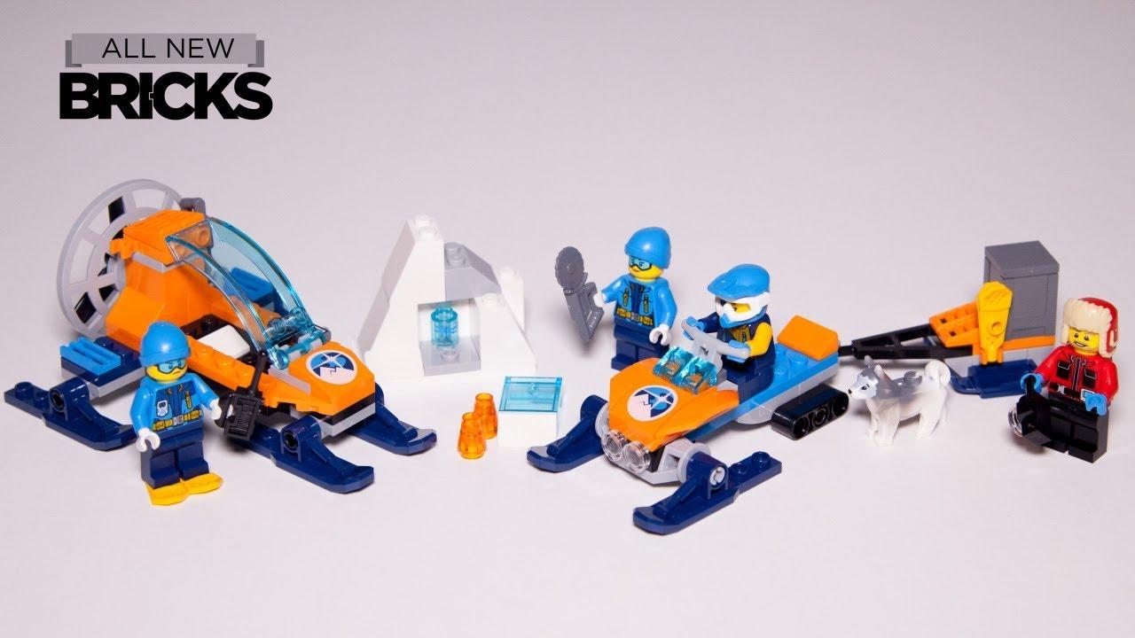 Lego City 60191 Arctic Exploration Team with 60190 Arctic Ice Glider