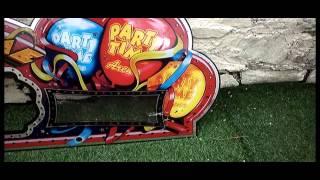 LARGE ARCADE SLOT FRUIT MACHINE ACRYLIC PLASTIC FRONT,WALL DISPLAY,ART,SIGN