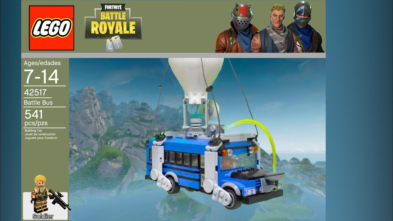 Lego Fortnite Battle Royale Set 42517 Leaked Photoshop Youtube
