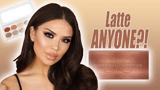 DOMINIQUE LATTE PALETTE TUTORIAL | iluvsarahii