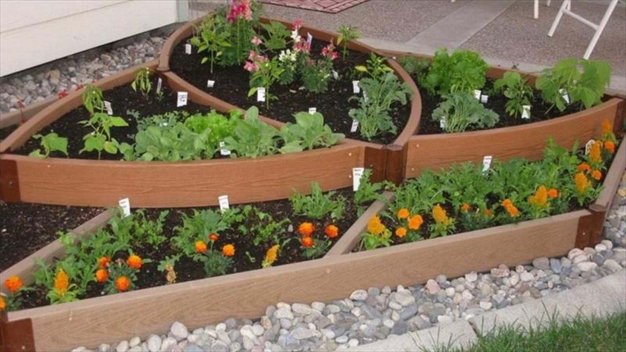 Small Garden Ideas Pinterest - YouTube
