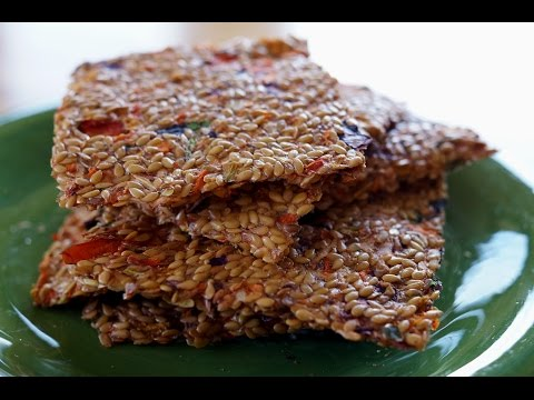 How to Make Flax Seed Crackers