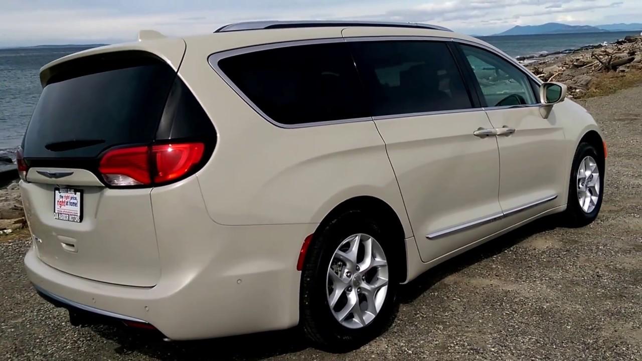2017 Chrysler Pacifica Touring L Plus Tusk White Youtube
