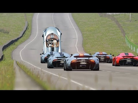 Koenigsegg Regera Battle at Highlands