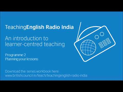 TERIndia | Programme 2: Planning your lessons