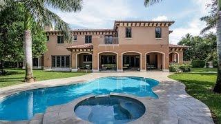 Custom Mediterranean Estate in Pinecrest, Florida