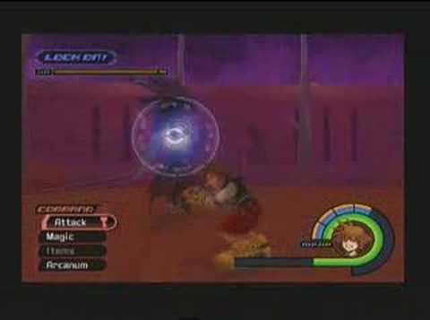 Kingdom Hearts - Sephiroth - No Items, Kingdom Key