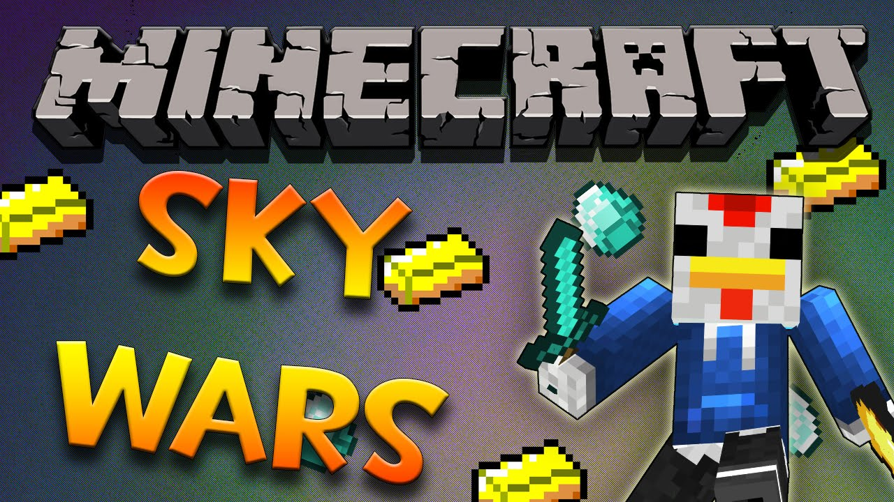 Minecraft - Sky Wars Ft. Justin Bieber - YouTube