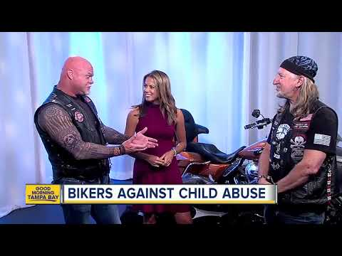 Bikers Against Child Abuse raves up for Child Abuse Awareness Month