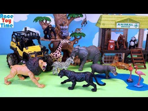 Animal Planet Safari Truck and Fun Animals Toys For Kids