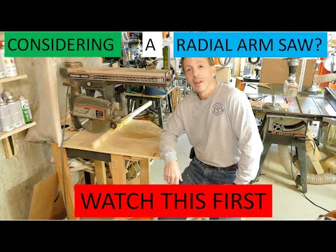 This Radial Arm Saw Review Is For Anyone Who Is Considering Or Owns A Radial Arm Saw