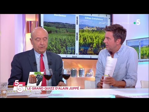 Le 5 sur 5 avec Alain Juppé ! - C à Vous - 17/10/2018