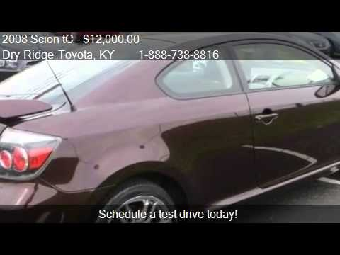 2008 scion tc for sale in dry ridge ky 41035 youtube. Black Bedroom Furniture Sets. Home Design Ideas