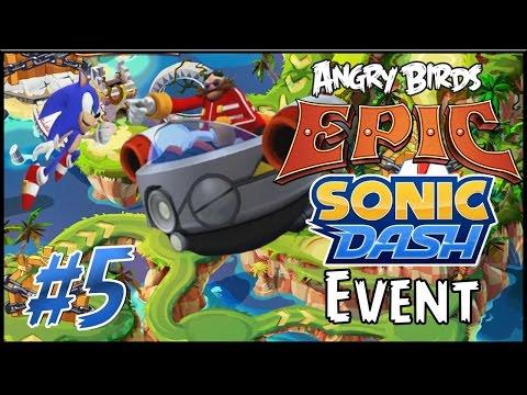 Angry Birds Epic: Sonic Dash Event #5 - Eggman Showdown