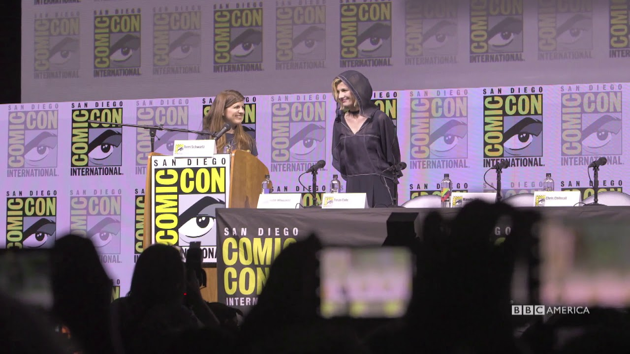 The Doctor's Debut | San Diego Comic-Con | BBC America