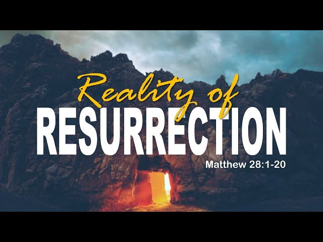 ACFI : Easter Sunday 2020 | Reality of Resurrection | Dr. Sanmson Parekh
