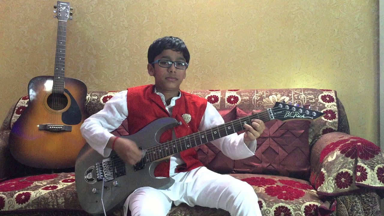 pani da rang from the movie vicky donor guitar cover by ...
