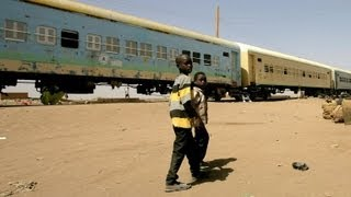 New railway track in Sudan
