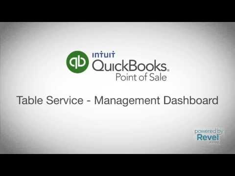 QuickBooks POS Table Service Demo