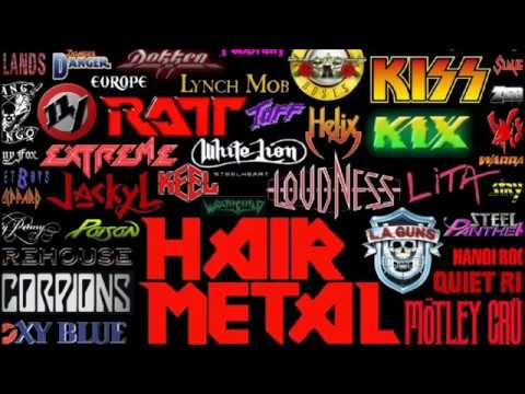 Hard Rock-Glam Metal Playlist 2