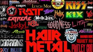 Hard Rock-Glam Metal Playlist 2