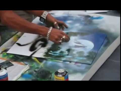 BANGLADESHI ARTIST IN THE STREET OF ROME --BY  SAIF