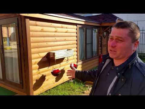 Гостевой домик 2,3х6м Woodel