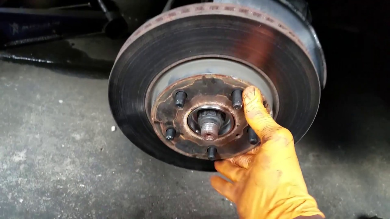 Rav4 Front Wheel Bearing Assembly Replacement, Removing The Wheel, Brakes,  Rotor, Axel And Struts