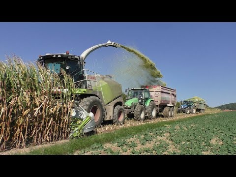 Big Corn Silage | Claas Jaguar 860 | Tractors in action | New Holland | John Deere | Claas
