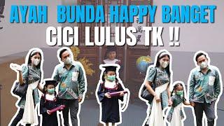 The Onsu Family - Ayah Bunda happy banget Cici lulus TK!!
