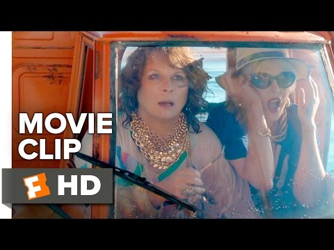 Absolutely Fabulous: The Movie CLIP - Tiny Car Chase (2016) - Jennifer Saunders Movie