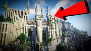 Download 🔴 Building an EPIC Minecraft Castle into the Mountain Side!!! Mp3 and Videos
