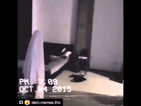 HILLARIOUS KID GETS CHAIR AND SMACKS FAKE GHOST/BROHER IN FACE!!