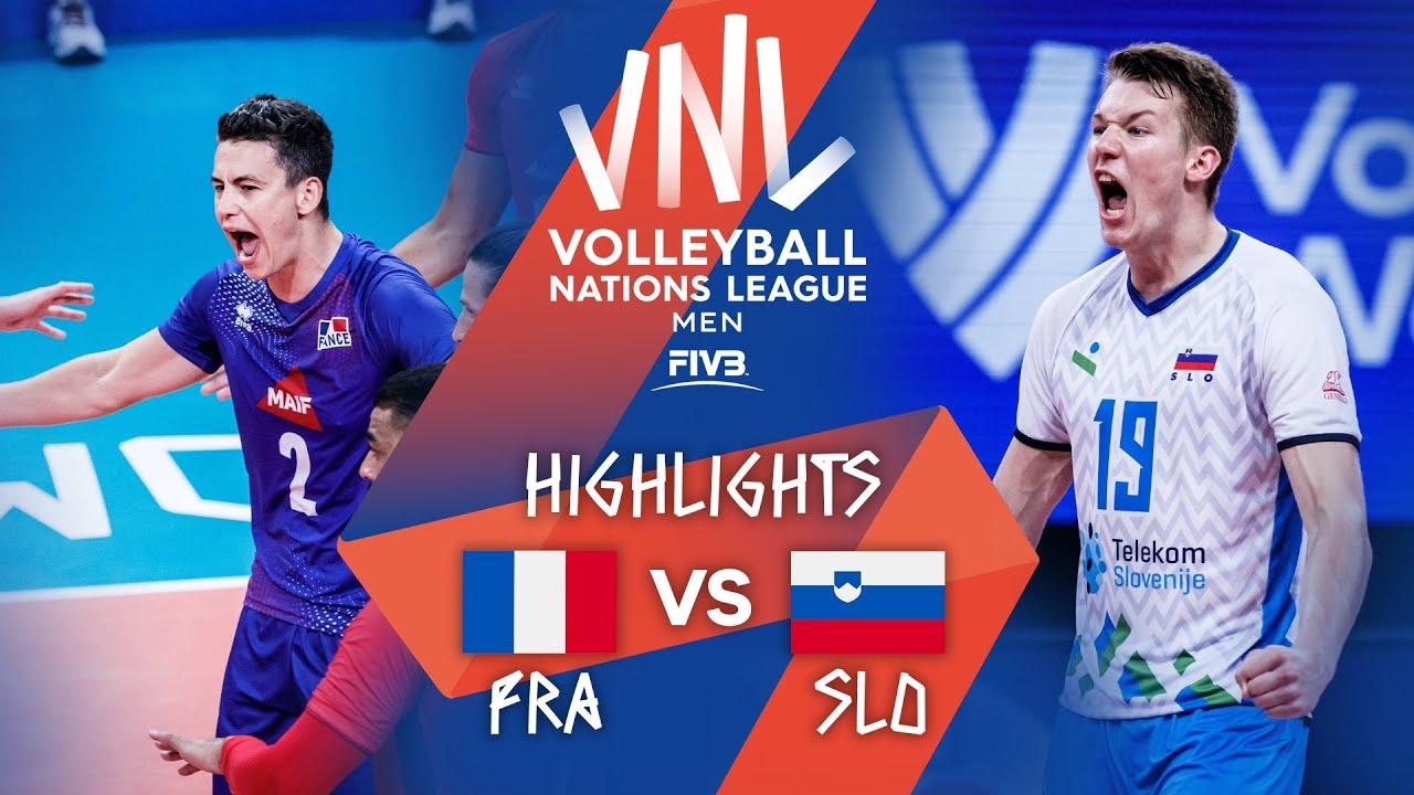 Download FRA vs. SLO - Highlights Week 3 | Men's VNL 2021