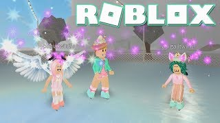 A Day In The Life In Bloxburg With Twins! Roblox: Welcome to Bloxburg ~ Ice Skating
