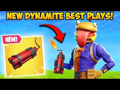 *NEW* DYNAMITE IS INSANE!  Fortnite Funny Fails and WTF Moments! #388