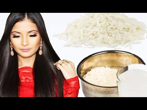 Польза рисовой  воды для кожи лица, волос и похудения