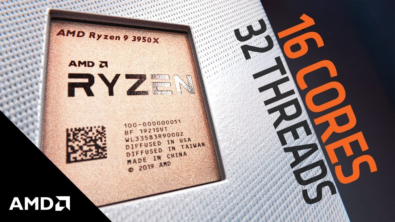 AMD Ryzen™ 9 3950X: The New 16-Core Desktop Performance Leader