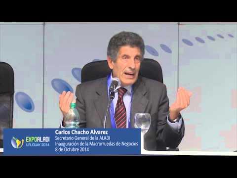 EXPO ALADI - Uruguay 2014 - Palabras Carlos Chacho Alvarez