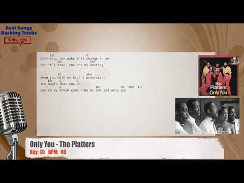 Only You - The Platters Vocal Backing Track with chords and lyrics