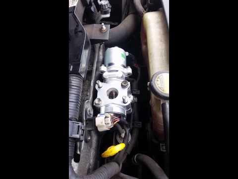 Exhaust gas recirculation egr valve replacement diy toyota verso d4d p0401 car